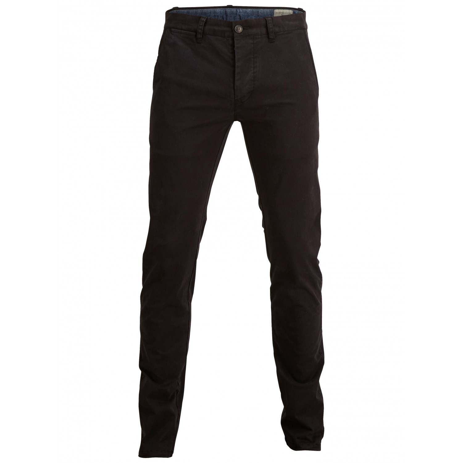 Selected homme  Pantalon chino noir coupe ajustée