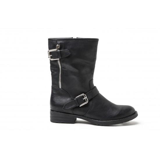 Vero Moda - Boots montantes biker noir