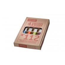 Opinel - Coffret 4 couteaux d'office couleurs acidulées