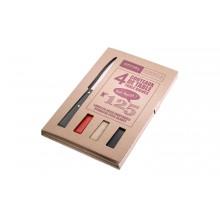 Opinel - Coffret 4 couteaux de table couleurs loft
