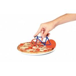 DOIY - Couteau à pizza vélo fixie bleu et rouge