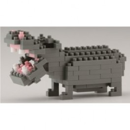Nanoblock - Hippopotame