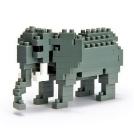 Nanoblock - Elephant