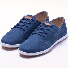 Lafeyt - Basket derby washed canvas bleu
