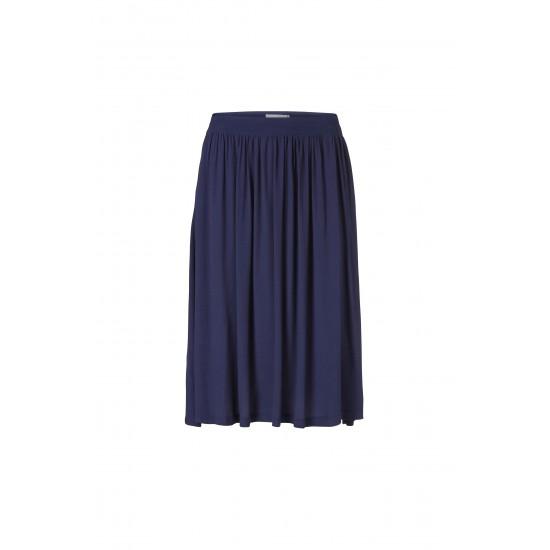 Minimum - Longue Jupe bleu marine