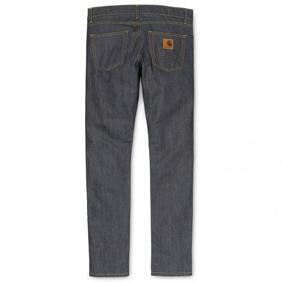 Carhartt - Jeans slim Rebel Pant bleu denim brut