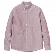 Carhartt - Chemise rouge chiné avec poche