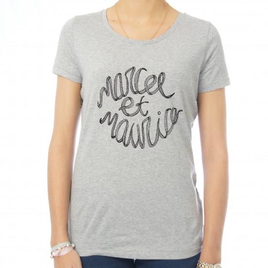 T-shirt femme Pieuvre Marcel et Maurice