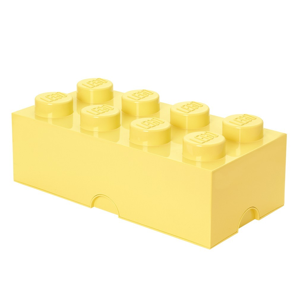 lego bo te de rangement jaune marcel et maurice. Black Bedroom Furniture Sets. Home Design Ideas