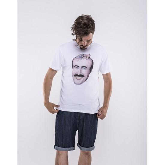 Olow - T-shirt bronzette sur crâne