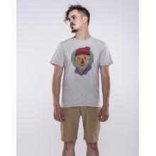 Olow - T-shirt gris chiné zissou