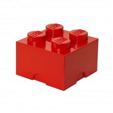 LEGO - Boîte de rangement rouge