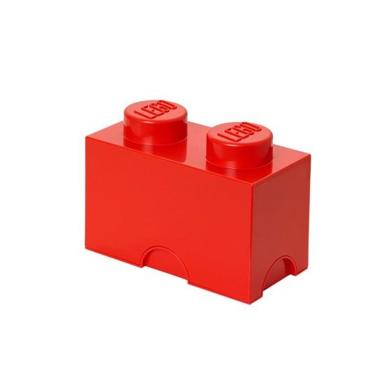 LEGO - Moellon de rangement rouge