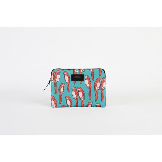Woouf - Housse motif perroquet pour tablette et iPad
