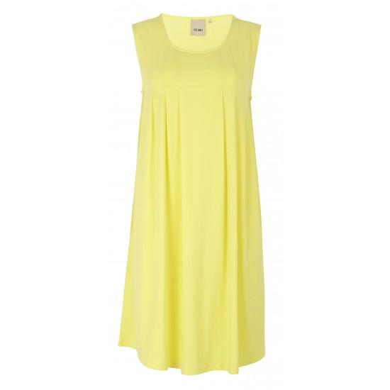 Ichi - Robe droite jaune