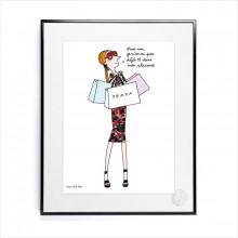 Affiche Soledad Placard 30x40 - Image Republic