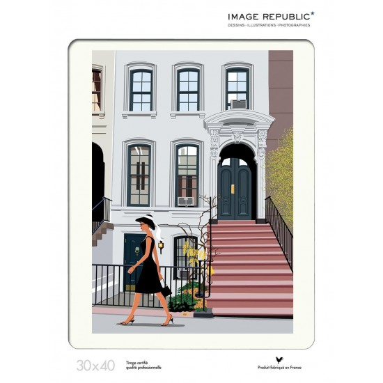 Affiche Paulo Mariotti New York 30x40 - Image Republic