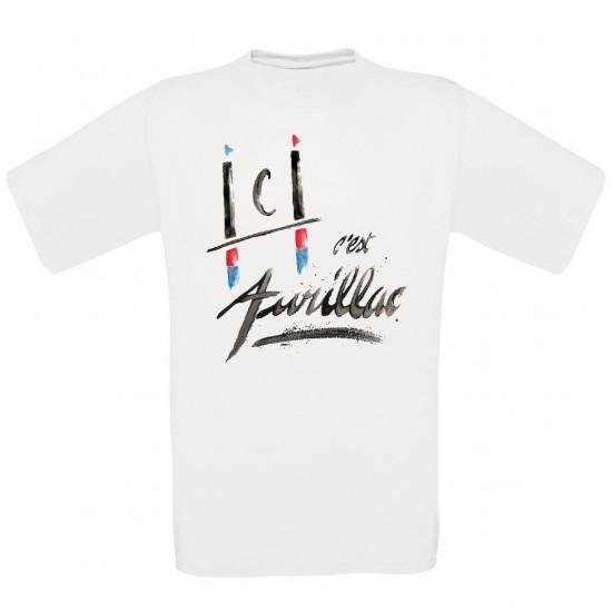 T-shirt unisexe Ici c'est Aurillac Rugby