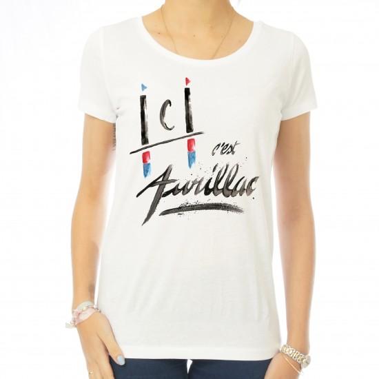 T-shirt femme Ici c'est Aurillac
