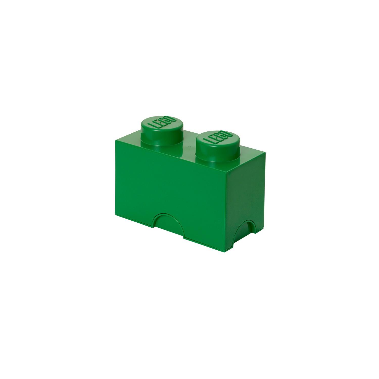 Lego moellon de rangement vert marcel et maurice - Caisse de rangement lego ...