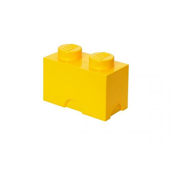 LEGO - Moellon de rangement jaune