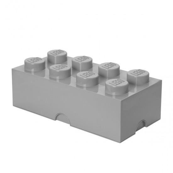 LEGO - Brique de rangement grise