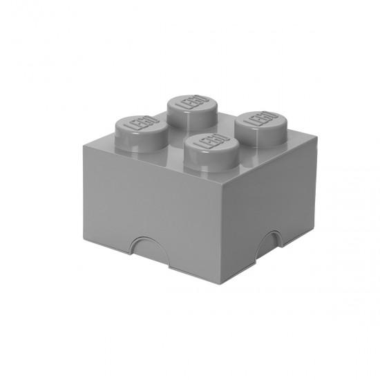 LEGO - Boîte de rangement grise
