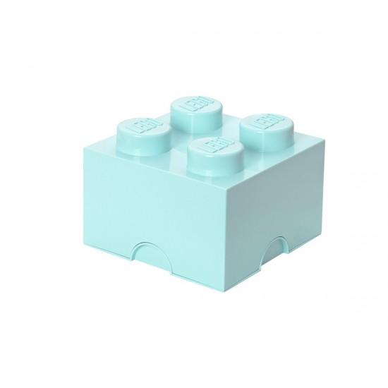 LEGO - Boîte de rangement bleu aqua