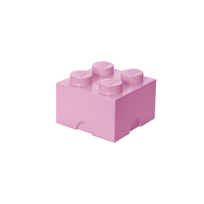 Lego bo te de rangement rose clair marcel et maurice - Lego boite de rangement ...