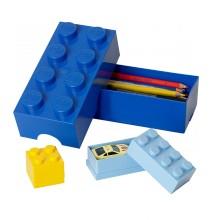 LEGO - Lunch box Bleu roi