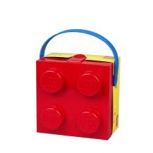 LEGO - Lunch box rouge avec poignée