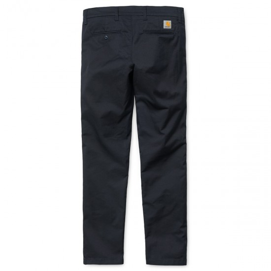 Carhartt - Pantalon chino marine