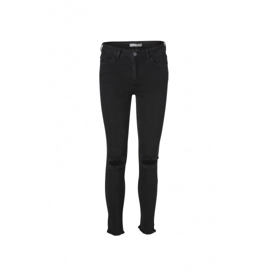 Minimum - Pantalon slim noir