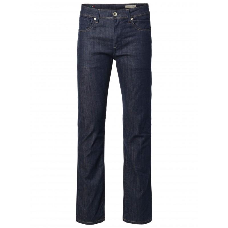 selected homme jeans droit brut. Black Bedroom Furniture Sets. Home Design Ideas