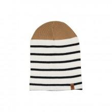 Bask in the sun - Bonnet marin beige et marine