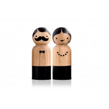 Mr Salt & Mrs Pepper - Moulin à poivre et à sel