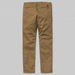 Carhartt - Pantalon chino club marron