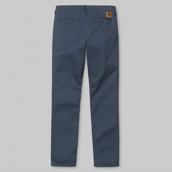 Carhartt - Pantalon chino club marine
