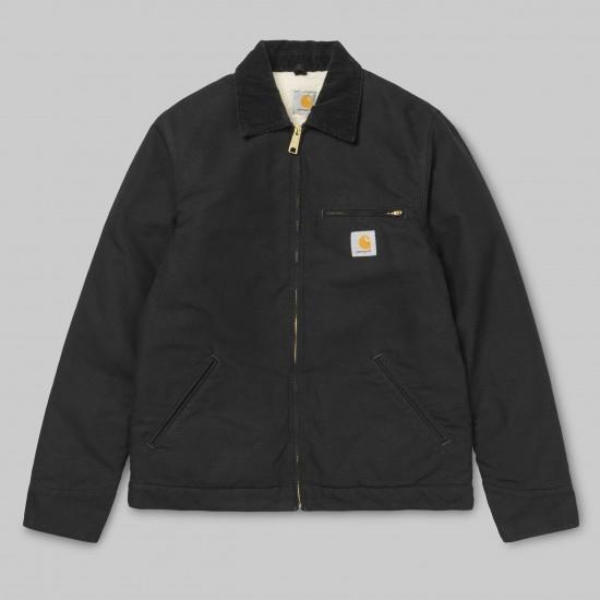 Carhartt - Manteau noir col velours