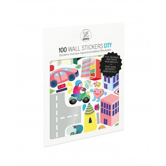 Omy - 100 stickers City