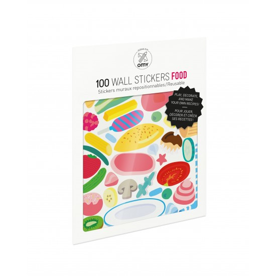 Omy - 100 stickers Food