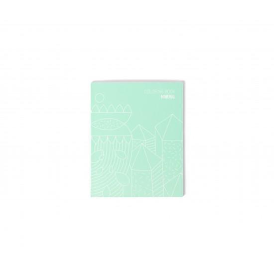 Omy - Carnet de note et coloriage Mineral