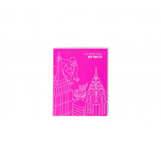 Omy - Carnet de note et coloriage New York