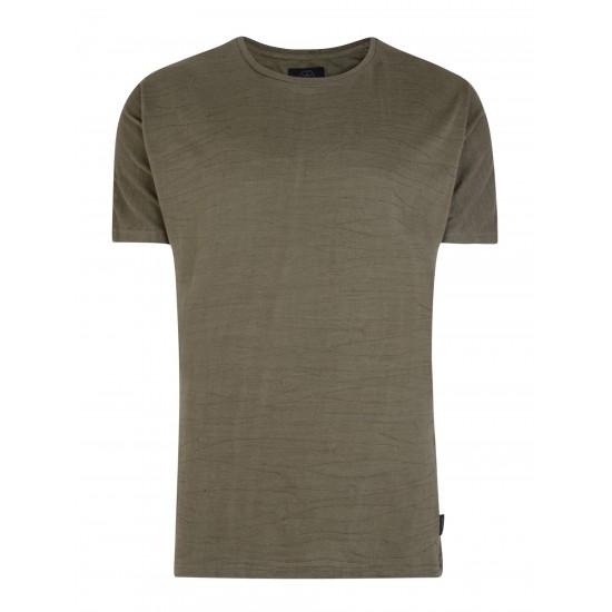 Bellfield - T-shirt Dynasty kaki