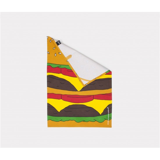 Woouf - torchon motif Burger