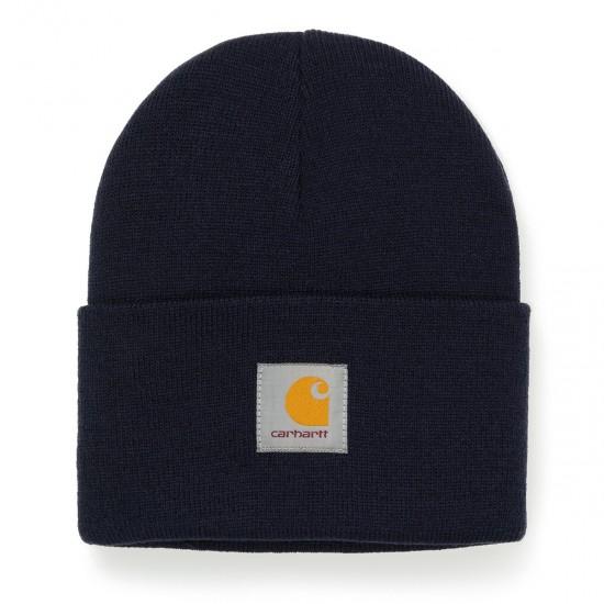 Carhartt - Bonnet bleu marine watch hat