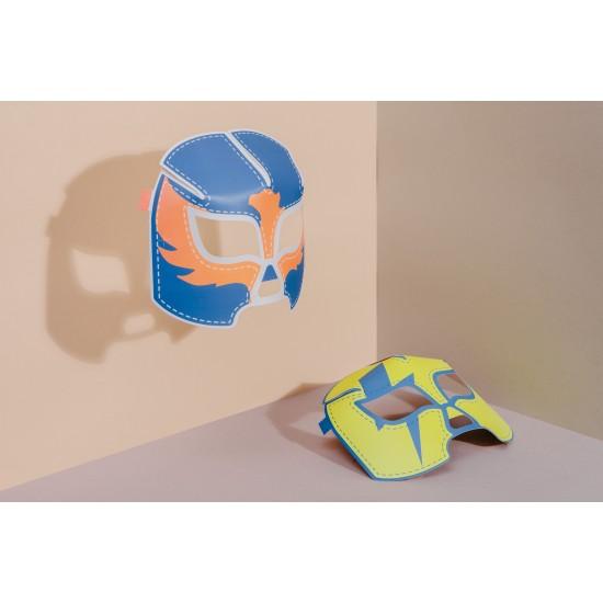 DOIY - Masques de catch en carton