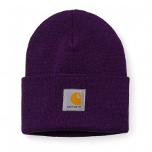 Carhartt - Bonnet violet watch hat