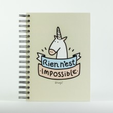 Mr wonderful - Cahier Licorne