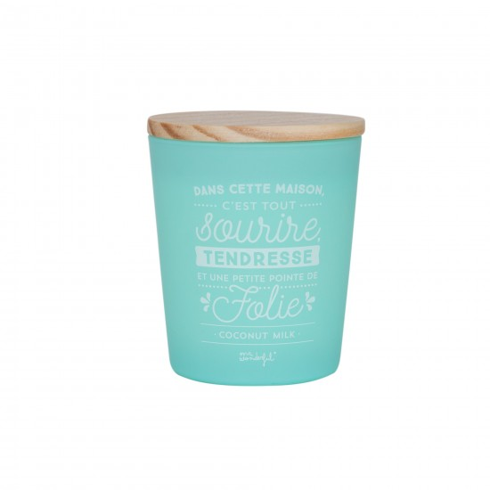 Mr wonderful - Bougie lait de coco